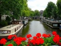 Jordaan District Amsterdam Netherlands x