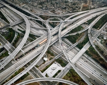 Judge Harry Pregerson Interchange highway  interchange near Athens and Watts communities of Los Angeles California