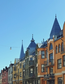 Jugend architecture in Helsinki Finland