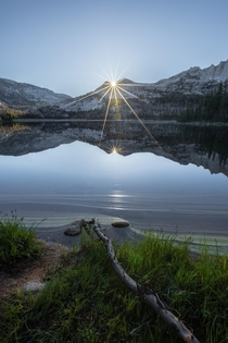 July th brought one of my favorite sunrises from this year Nelson Lake Yosemite National Park