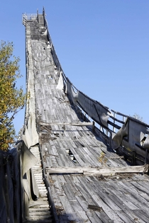 Jump to Nowhere The Nansen Ski Jump in Milan New Hampshire