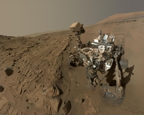 June   Curiosity Selfie at Windjana