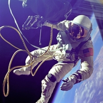 June  - Edward White with the first spacewalk for the United States -