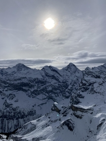 Jungfrau Region Schilthorn Switzerland th January