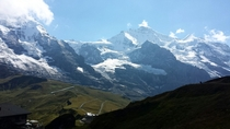 Jungfrau - Switzerland Cellphone pic from today  OC