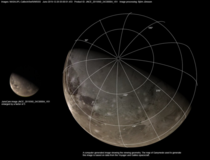 Juno pictured Ganymede recently and then scientists reconstructed the view from orbital parameters maps and imagery obtained by Voyager amp Galileo missions