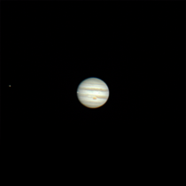 Jupiter and Io transit