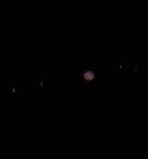 Jupiter and its four moons taken with my entry-level DSLR and kit lens under the light-polluted sky of Athens Greece