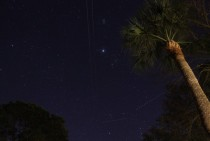 Jupiter and Pleiades at Tybee Island GA