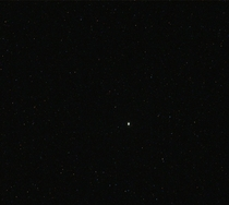 Jupiter as seen by Curiosity on Mars