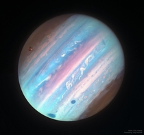Jupiter in Ultraviolet from Hubble Image Credit NASA ESA Hubble Processing amp License Judy Schmidt