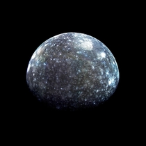 Jupiters moon Callisto