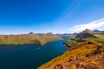 Just a glimpse of the stunning landscapes that awaits you in the Faroe Islands