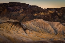 Just a portion of the incredible landscape at Zabriksie Point in Death valley  jonnyboy_wanderlust