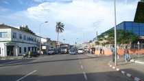 Just a street in Bata Equatorial Guinea