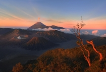 Just a typical morning at Mt Bromo in Indonesia Photo by Weerapong Chaipuck
