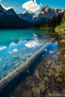 Just another beautiful turquoise lake in Yoho NP BC Canada