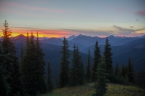 Just another British Columbia Sunset Manning Provincial Park BC