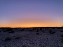 Just before sunrise in the Black Rock Desert Unedited