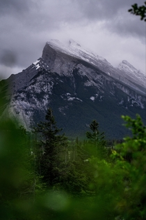 Just before the storm Mount Rundle Banff