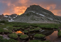 Just below Isabelle Glacier in the Indian Peaks of Colorado