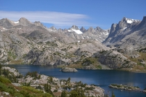 Just breathtaking Island Lake in Wyoming a  mile hike from any trailhead x