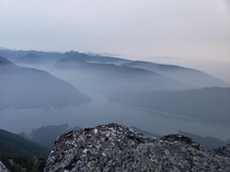 Just got back from a backpacking trip with a couple friends Bald Mountain WA Summit