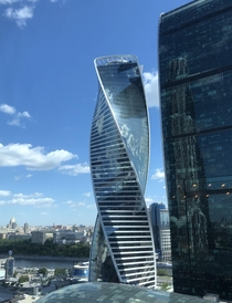 Just look at those curves Moscow Evolution Tower