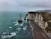 Just me and I in tretat Normandie FR