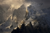 K Massif Karakoram Pakistan  By Rizwan Saddique