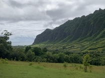 Kaaawa Valley Oahu Hawaii