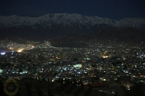 Kabul at night