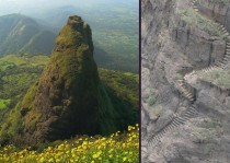 Kalavantin India Abandoned mini-castlelook out post tower