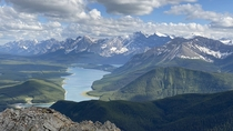 Kananaskis Country Canada Taken from South Lawson Peak