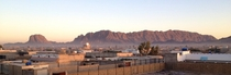 Kandahar City Afghanistan at sunrise