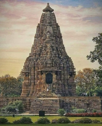 Kandariya Mahadeva Temple th century Khajuraho India
