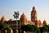 Karachi Municipal Corporation Building - Fusion between colonial and local Islamic architecture  x-post rExplorePakistan