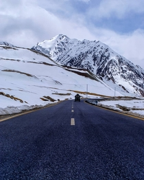 Karakoram Highway - th Wonder of the World - Highest Paved Road at  metres - Khunjerab Pass Pakistan