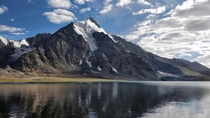 Karambar Lake Broghil valley Pakistan One of the highest biologically active lakes on earth