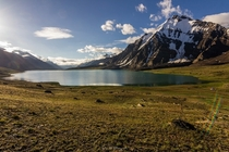 Karomber Lake  m The Second Highest Lake In Pakistan  By Sher Ali Saafi