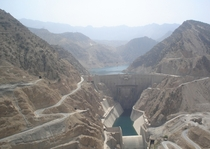 Karun- Dam on the Karun river in the province of Khuzestan Iran