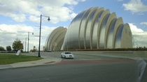 Kauffman Center for the Performing Arts in Kansas City Missouri