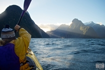 Kayaking the Milford Sound Fiordland National Park New Zealand