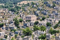 Kayakoy Turkey Still is a abandon city that is still standing and was abandon in