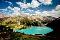 Kazakhstans Big Almaty Lake  by Rasul Yarichev