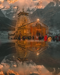 Kedarnath temple India x