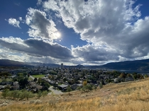 Kelowna BC Beautiful thanksgiving day last week very mild for October in Canada