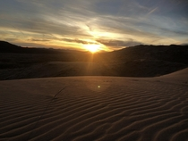 Kelso Dunes in Mojave National Preserve CA