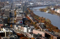 Kenmore Square and the Charles River Boston