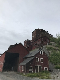 Kennecott Copper Mill Alaska